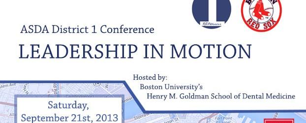 District 1 Leadership Conference header